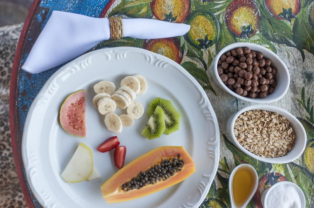 Café da manhã da Pegada da Onça