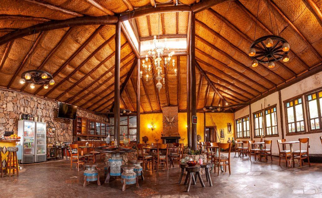 Restaurante da Pousada Pegada da Onça